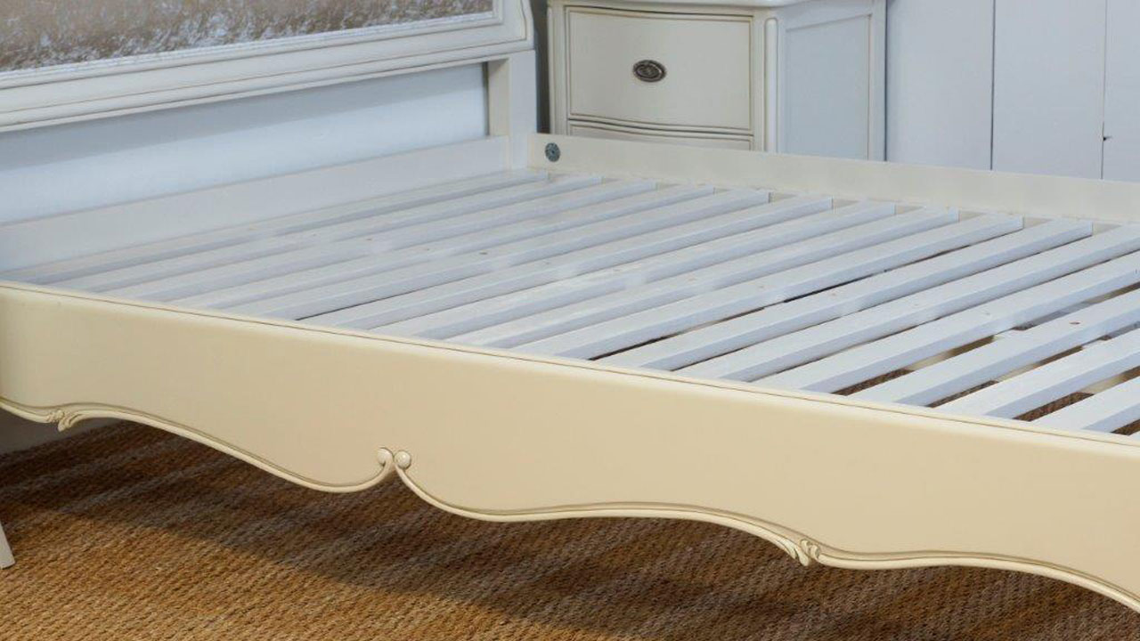 Provence Upholstered Bed Frame - Detail View