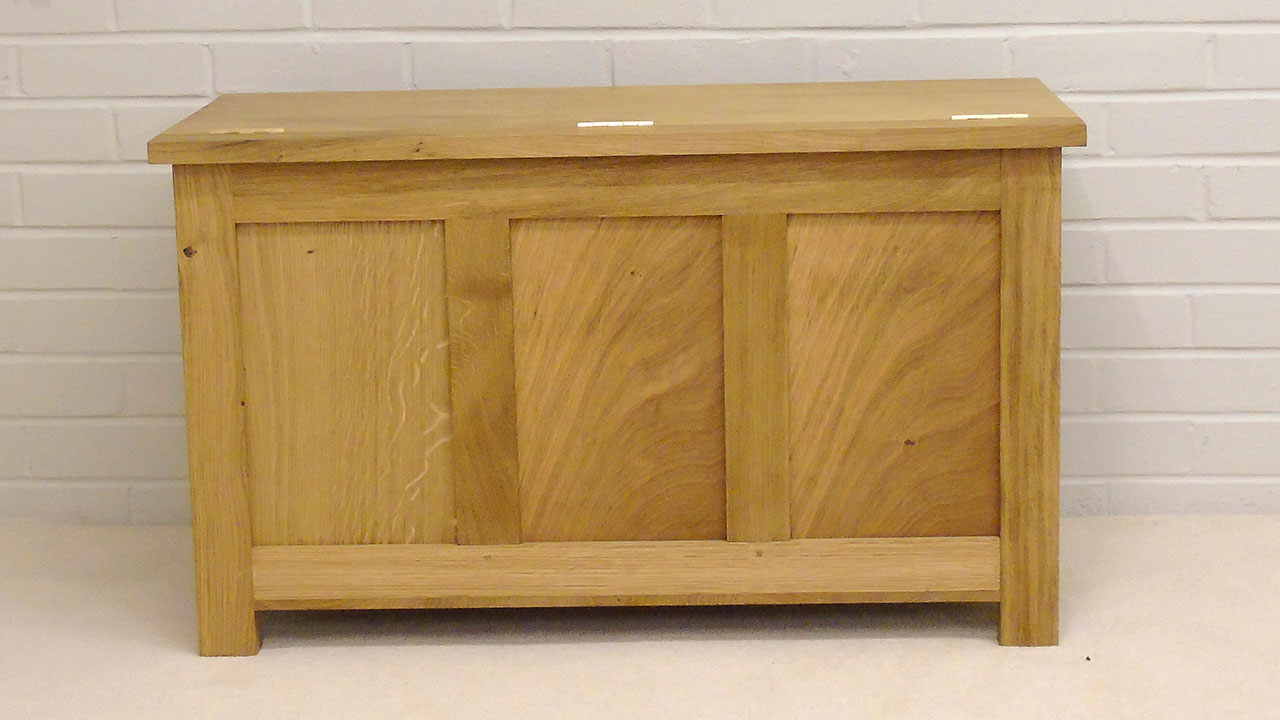 Titchmarsh & Goodwin Blanket Box - Back View