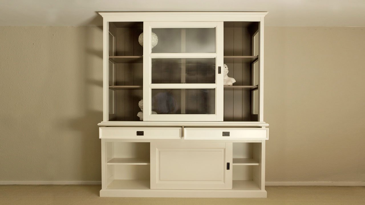 Richmond Cabinet - Front View - Open