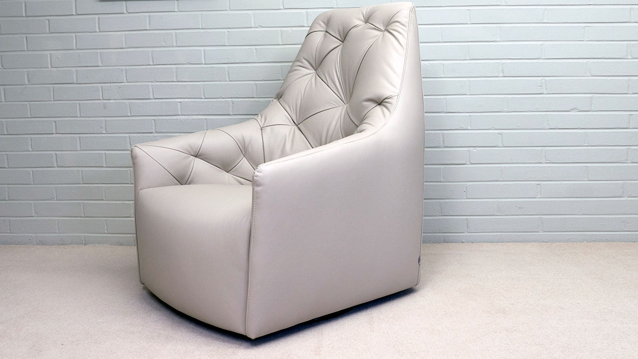 777 Swivel Chair - Angled View