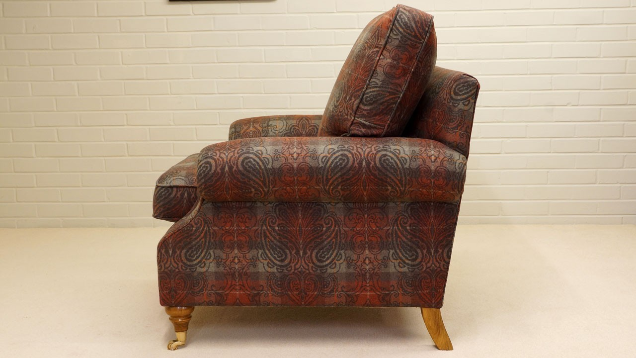 Alnwick Chair - Side View