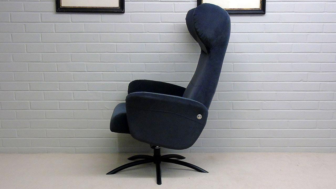 Arai Recliner Chair - Side View