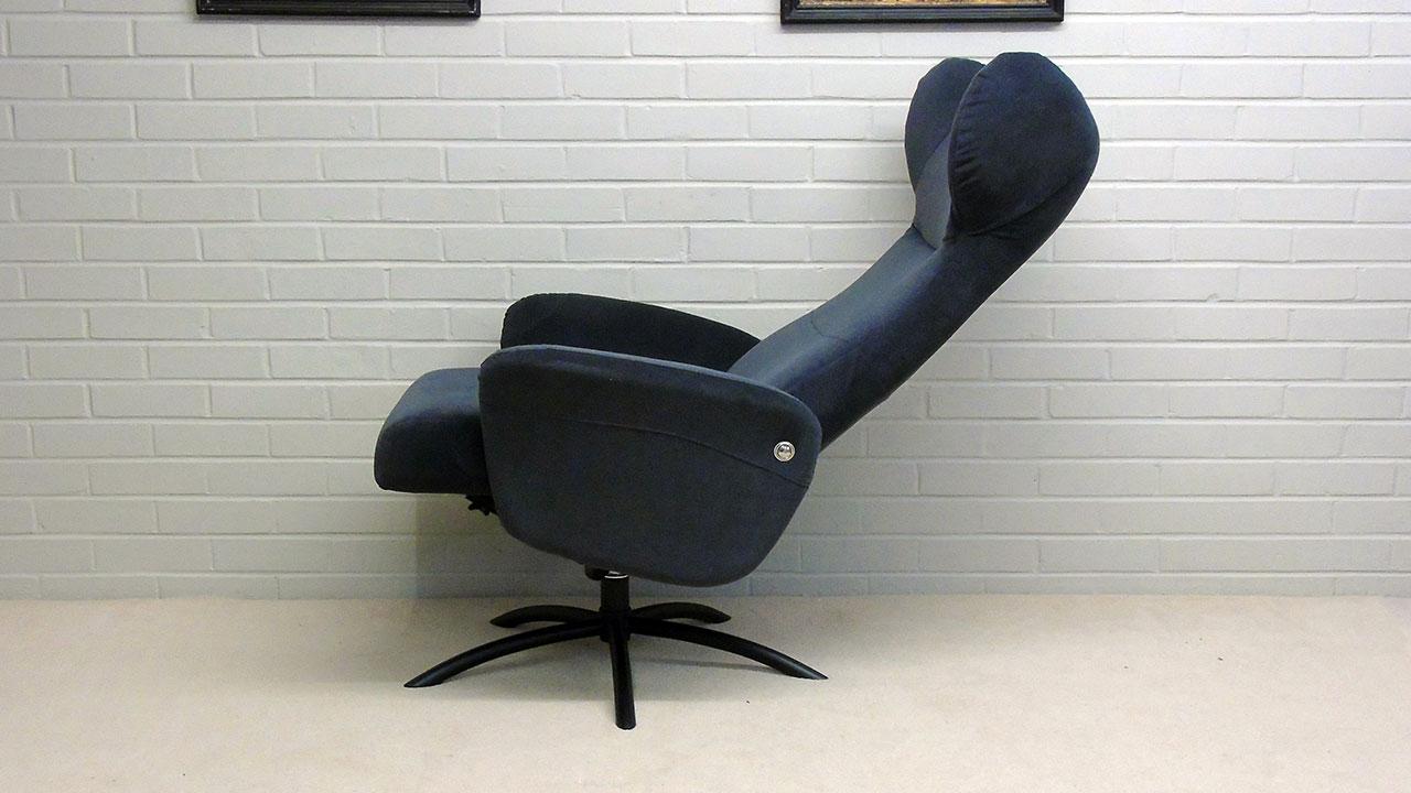 Arai Recliner Chair - Reclined Side View