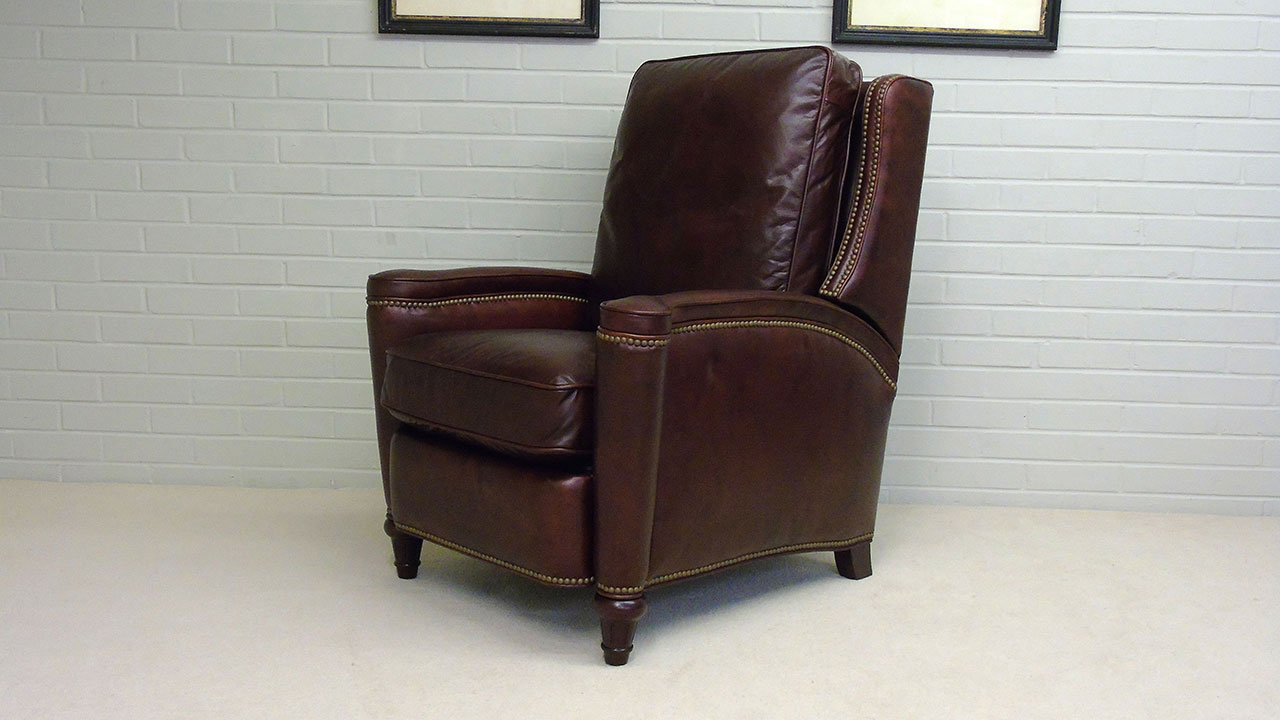 Boston Recliner Chair - Angled View
