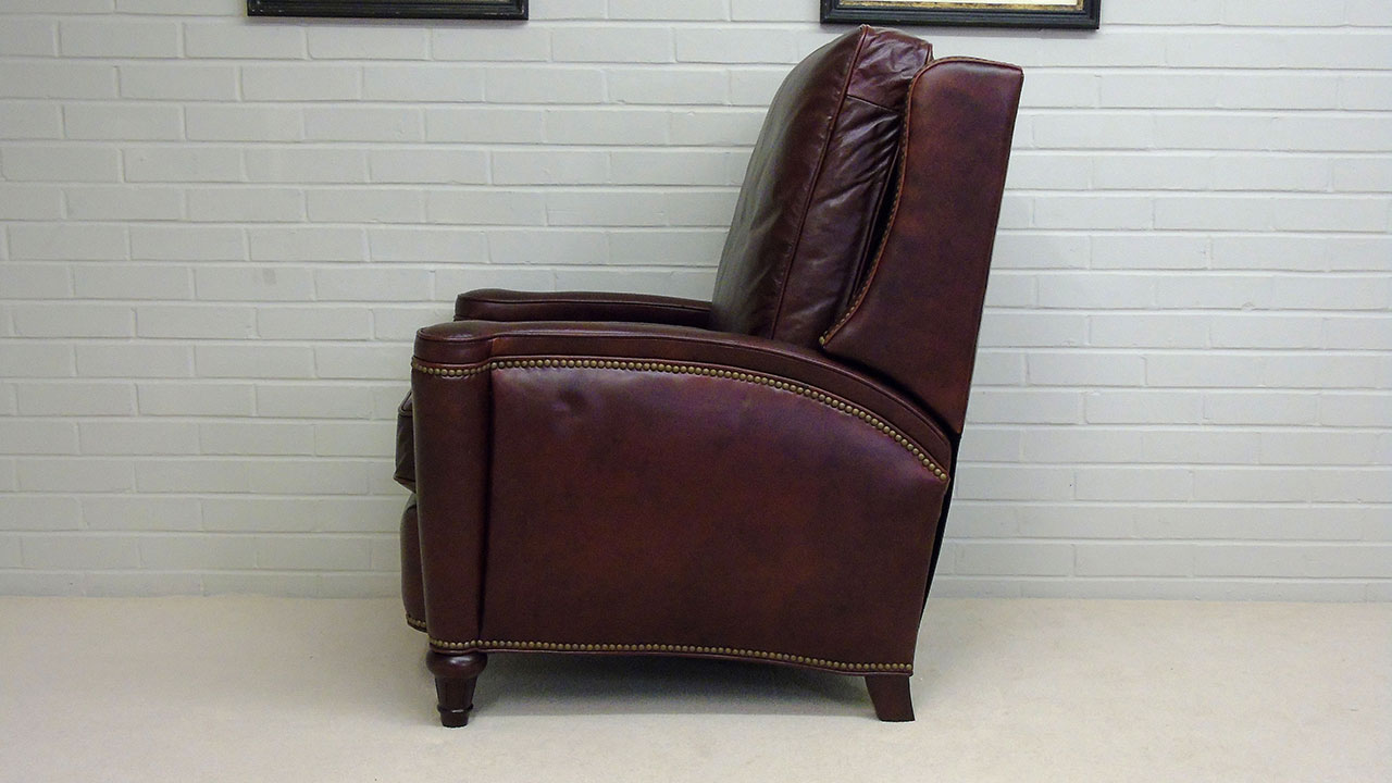 Boston Recliner Chair - Side View
