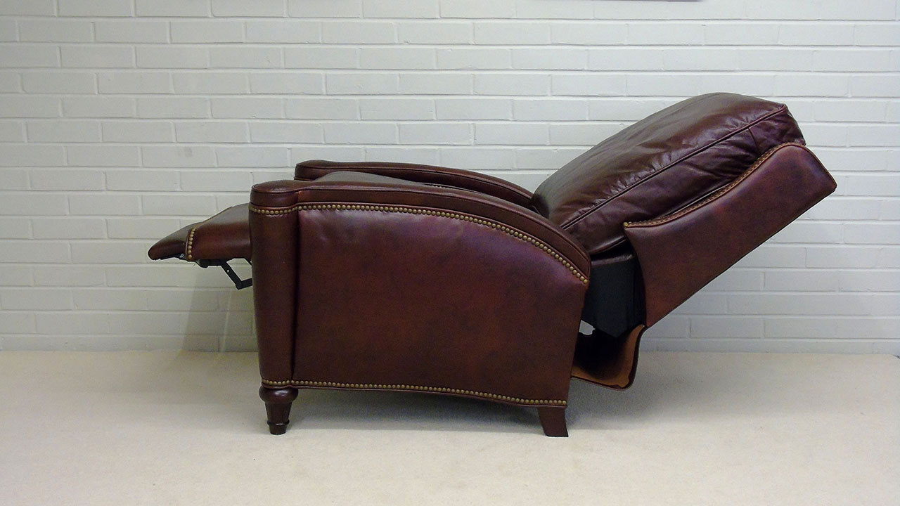 Boston Recliner Chair - Reclined Side View