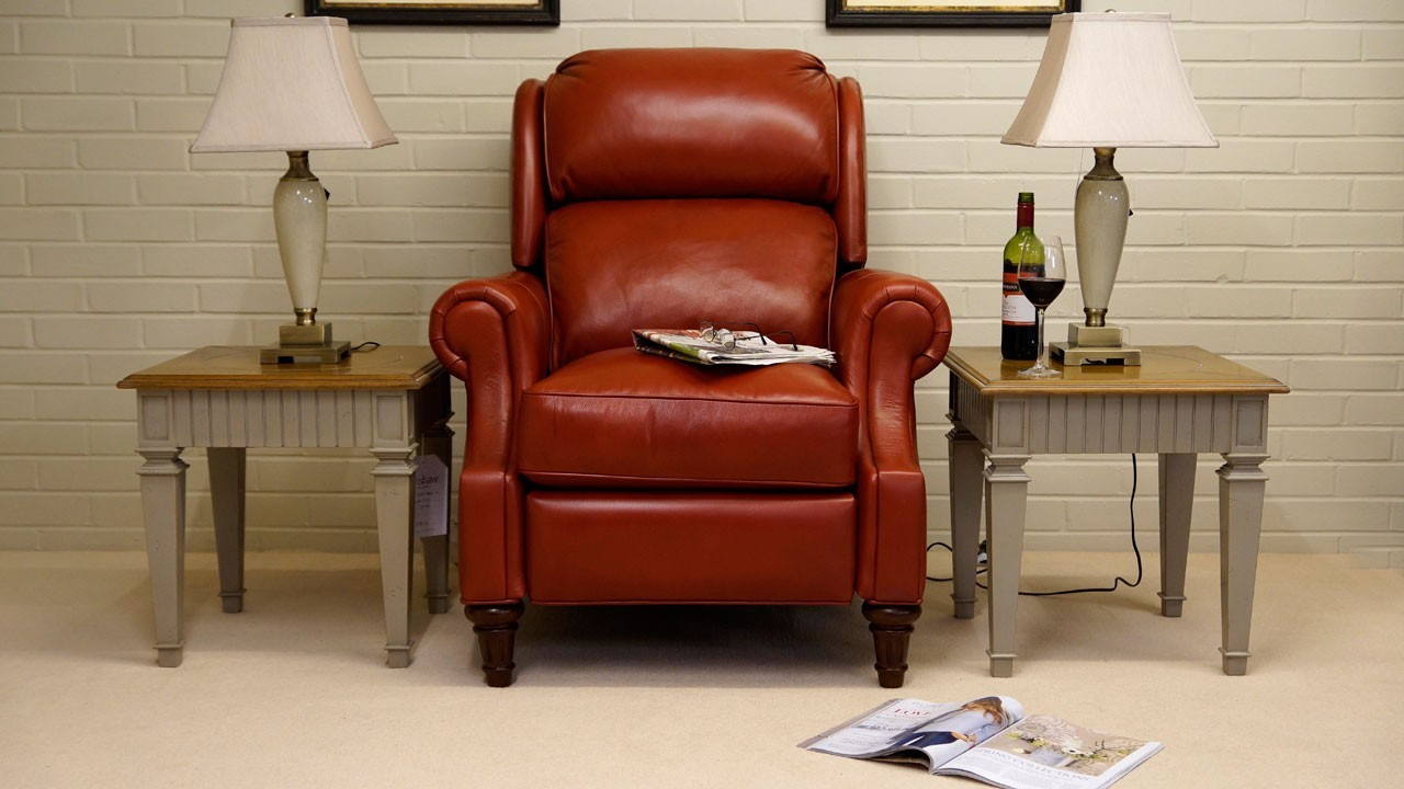 Cheltenham Recliner Chair - Front View