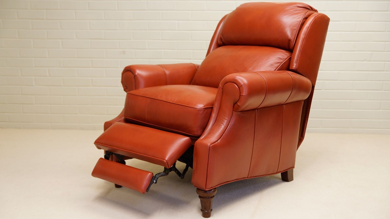 Cheltenham Recliner Chair - Reclined Angled View 1