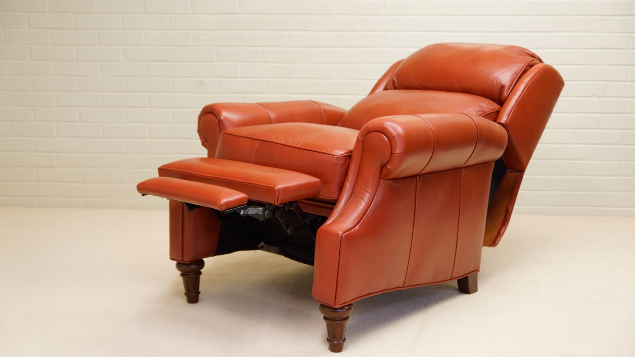 Cheltenham Recliner Chair - Reclined Angled View 2