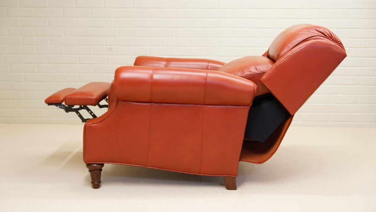 Cheltenham Recliner Chair - Reclined Side View