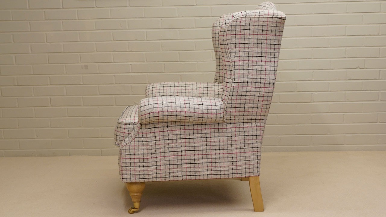 Chester Wing Chair - Side View