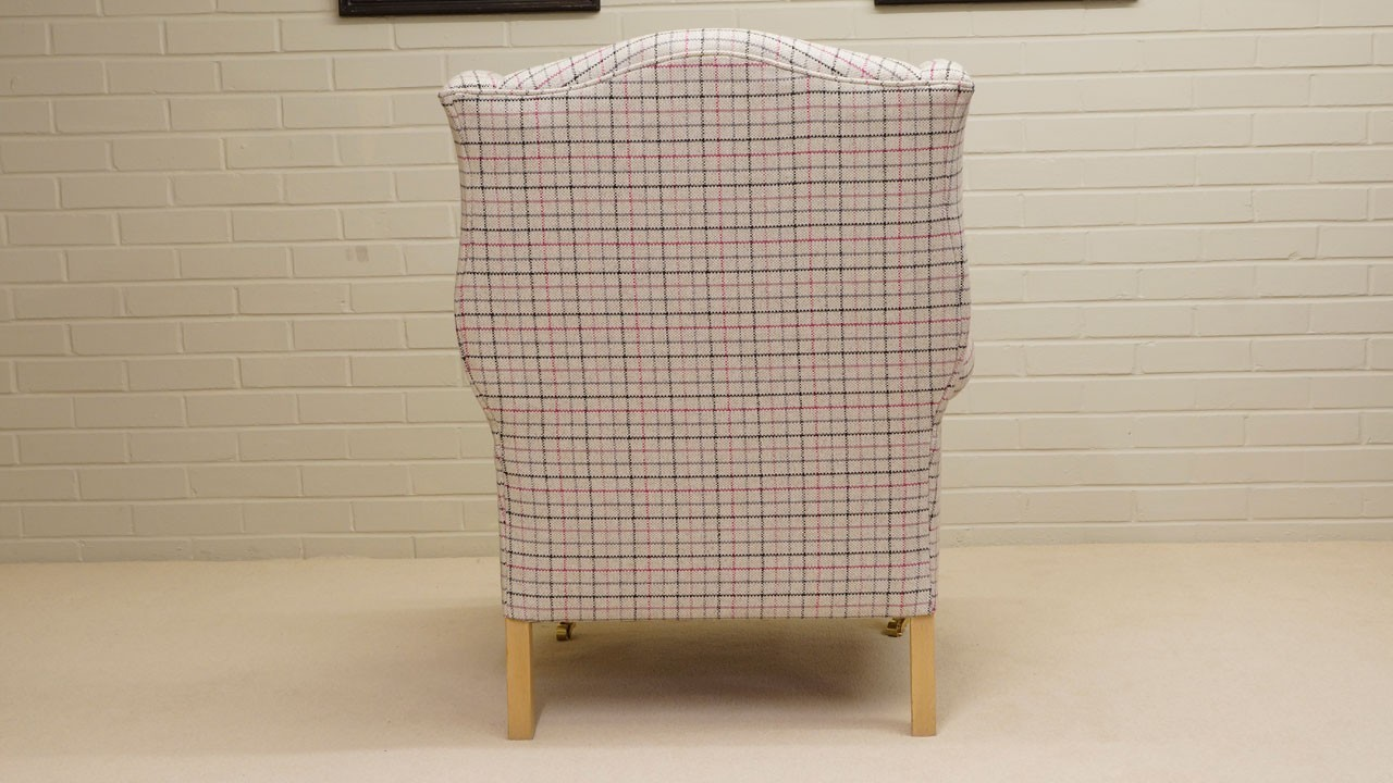 Chester Wing Chair - Back View