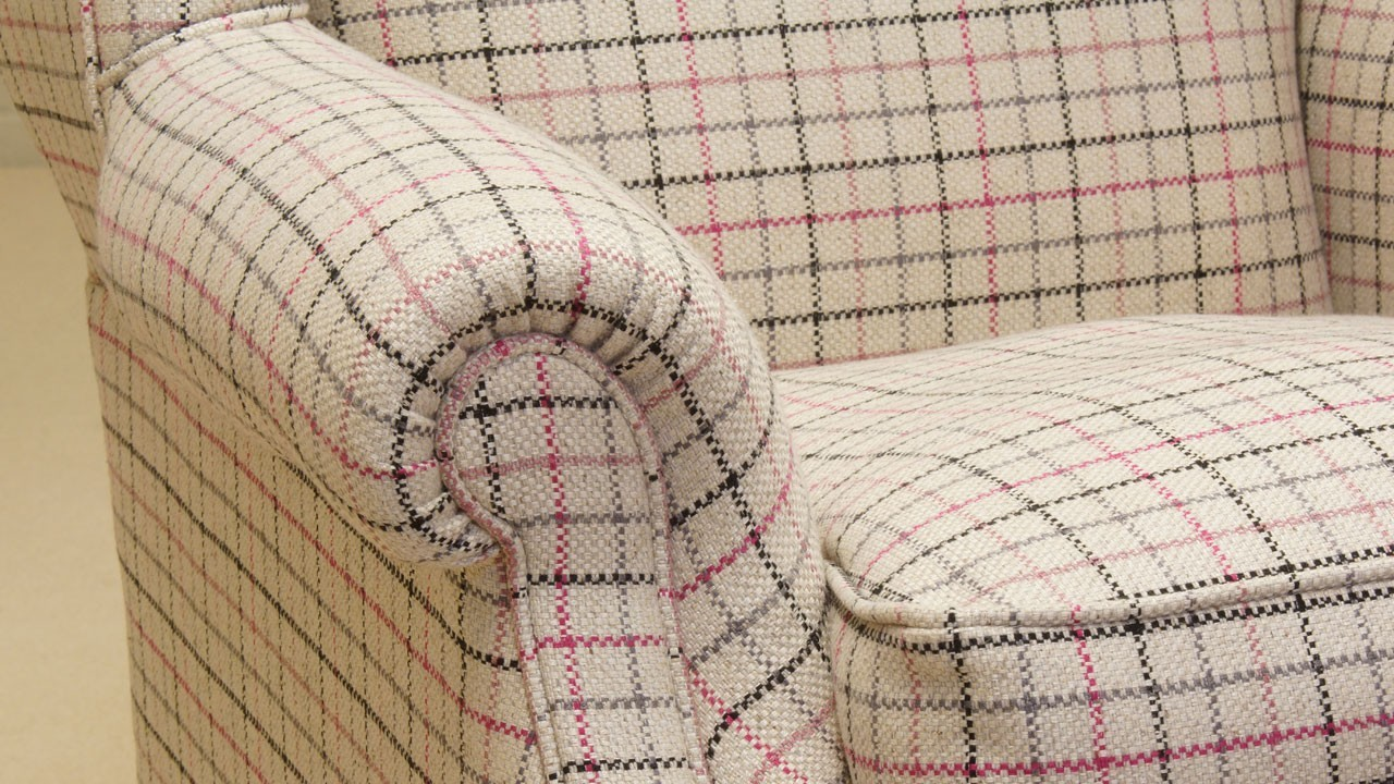 Chester Wing Chair - Detail View