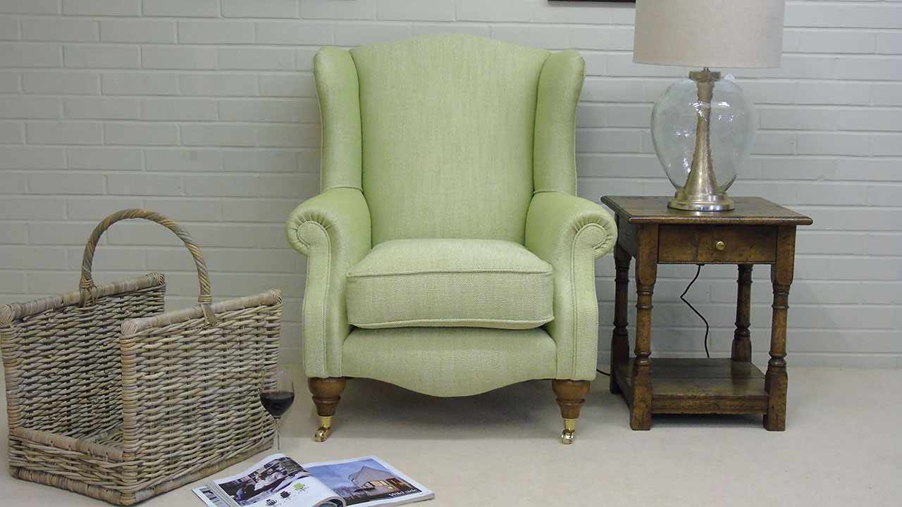 Chester Wing Chair - Front View - Alternative