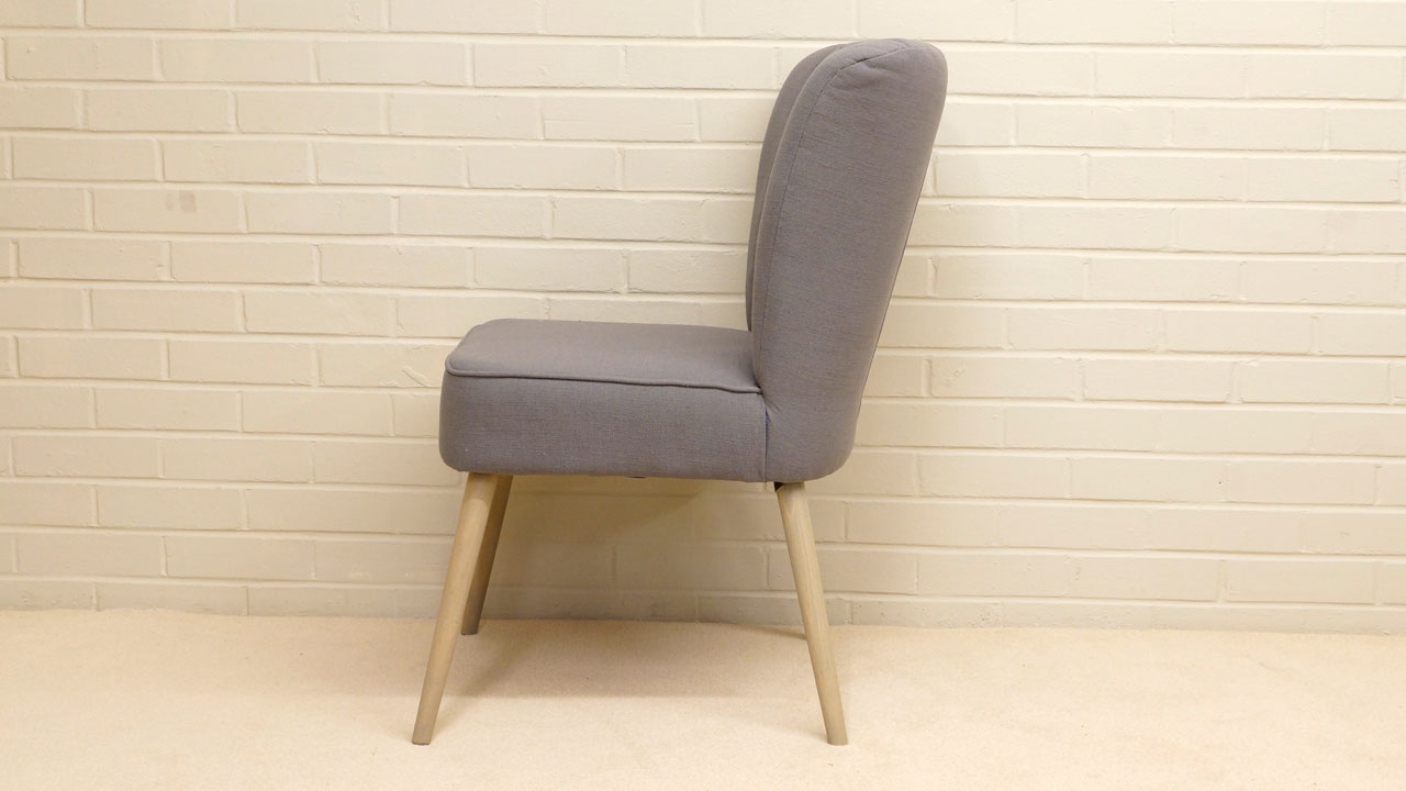 Daley Upholstered Chair - Side View