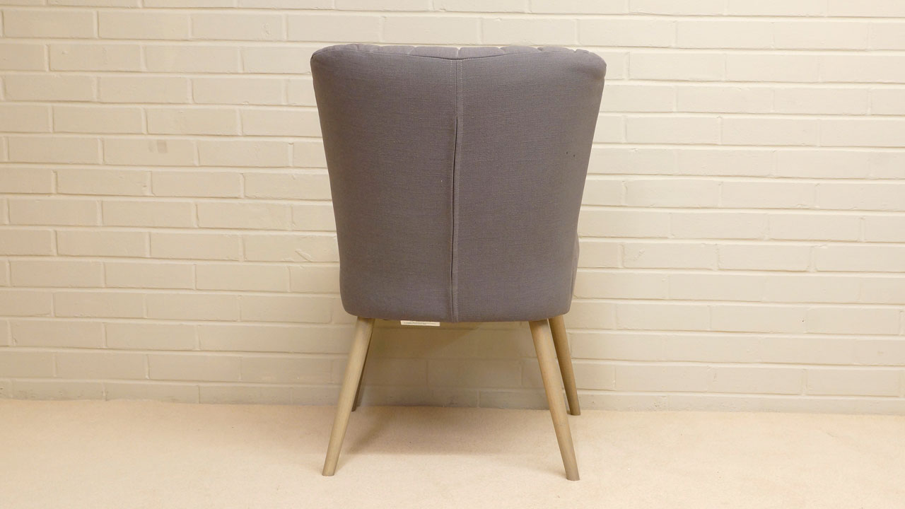 Daley Upholstered Chair - Back View