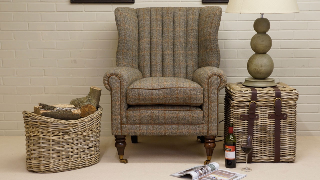 Dunbar Wing Chair - Front View