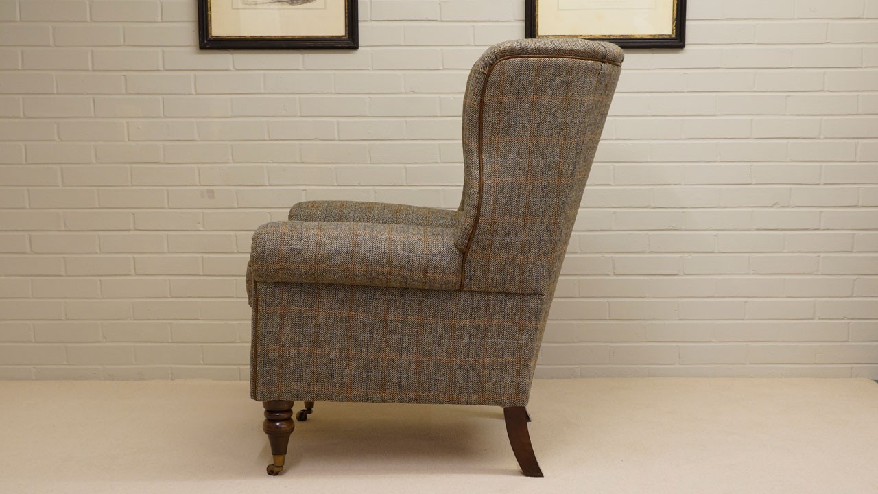 Dunbar Wing Chair - Side View