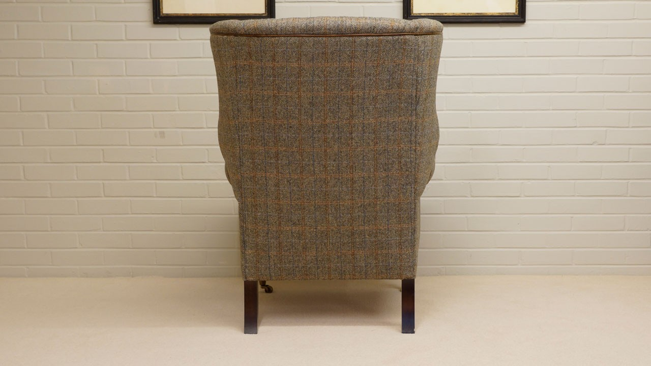Dunbar Wing Chair - Back View