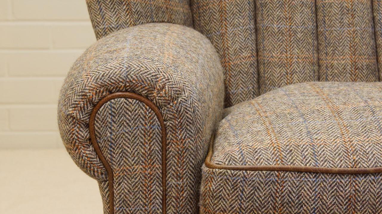 Dunbar Wing Chair - Detail View