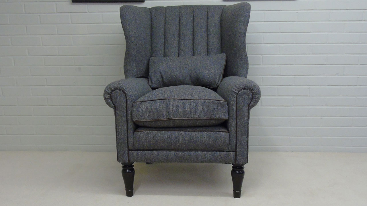 Dunbar Wing Chair - Front View - Alternative 1