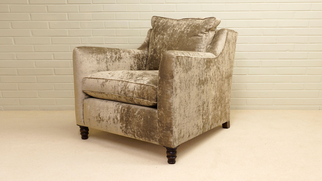 Duresta Hoxton Chair - Angled View