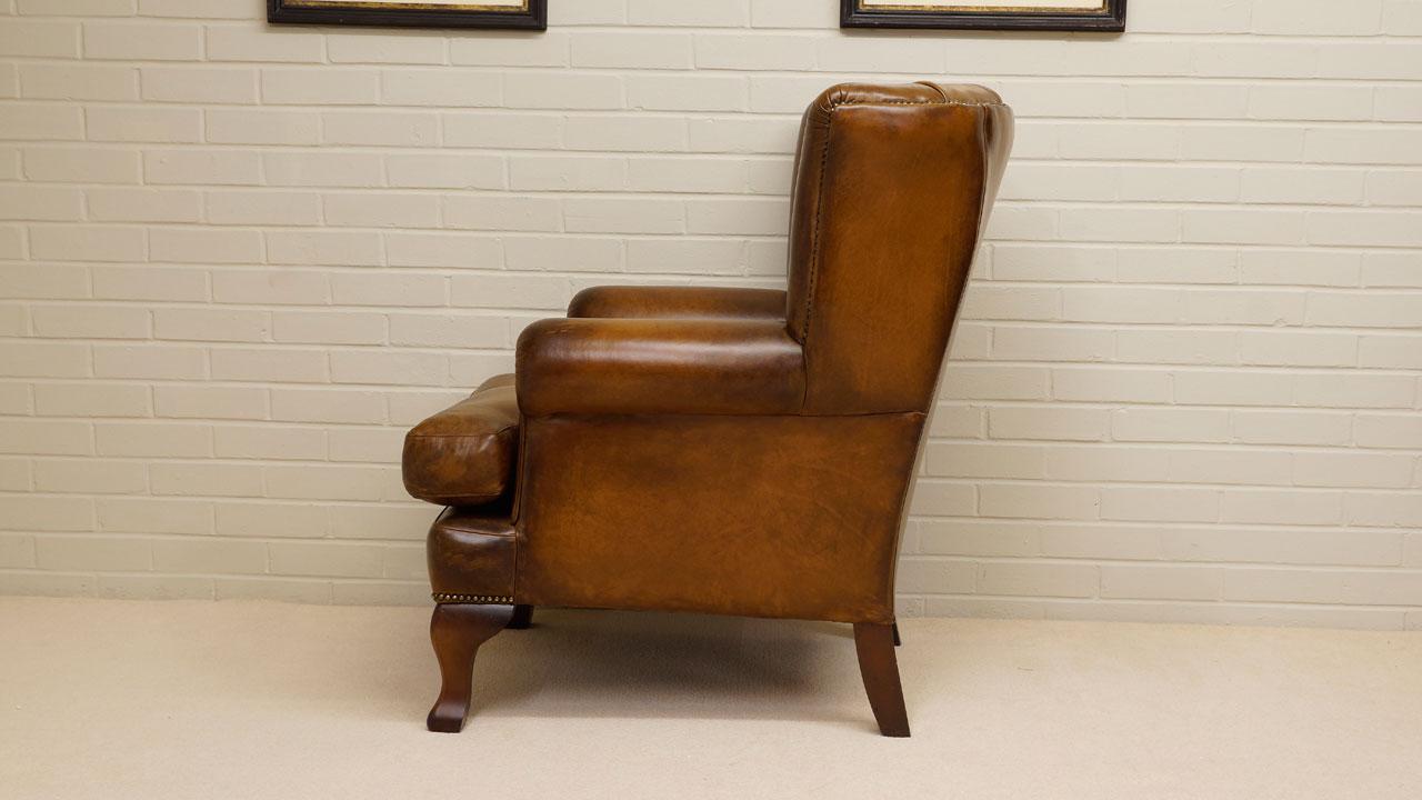 Fan Back Chair - Side View