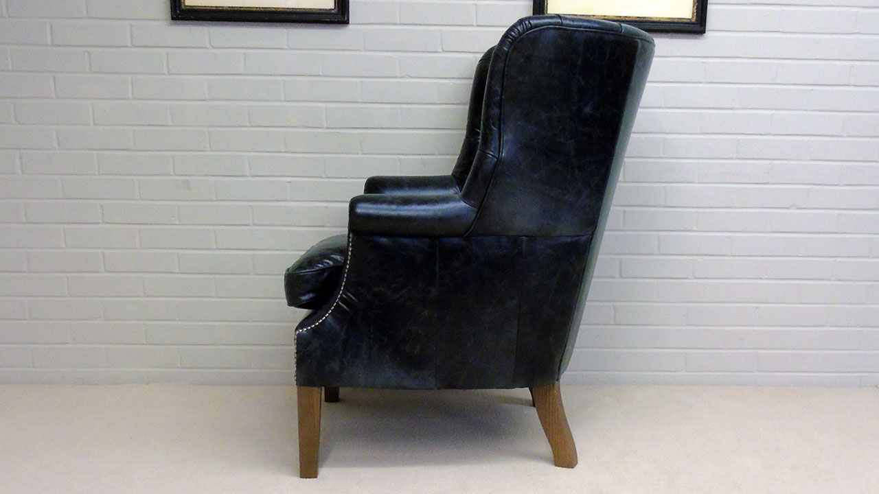 Garrick Wing Chair - Side View