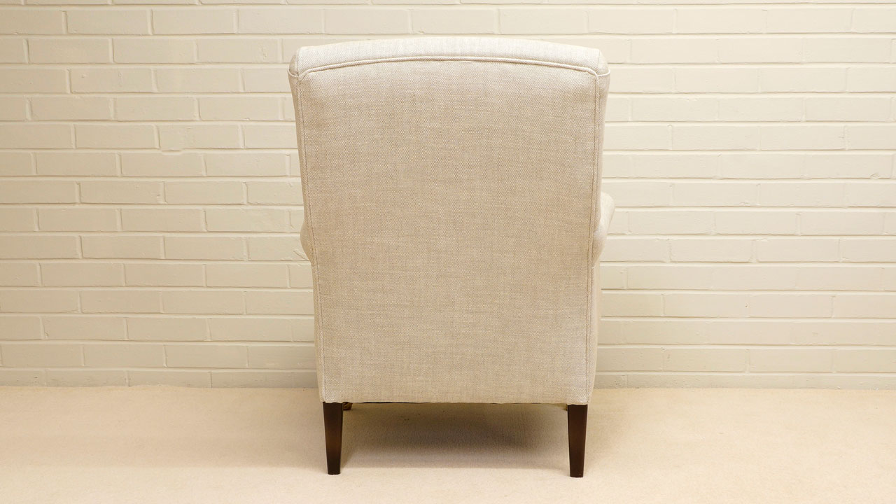 Kendall Chair - Back View - White