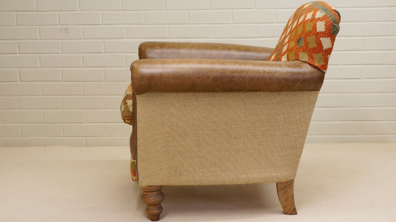 Kilim Chair - Side View 2