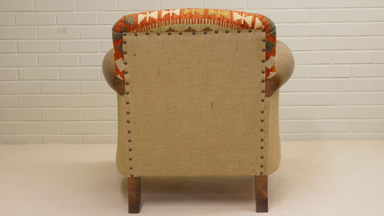Kilim Chair - Back View 2
