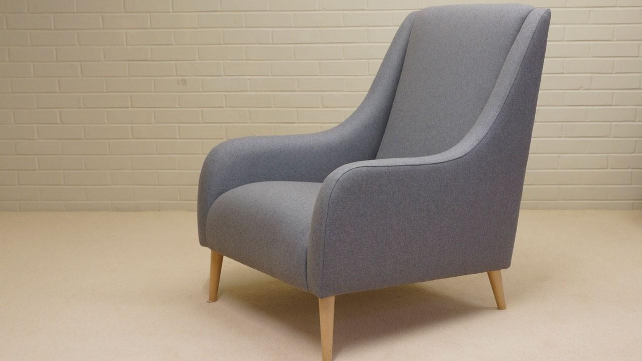 Naomi Chair - Angled View