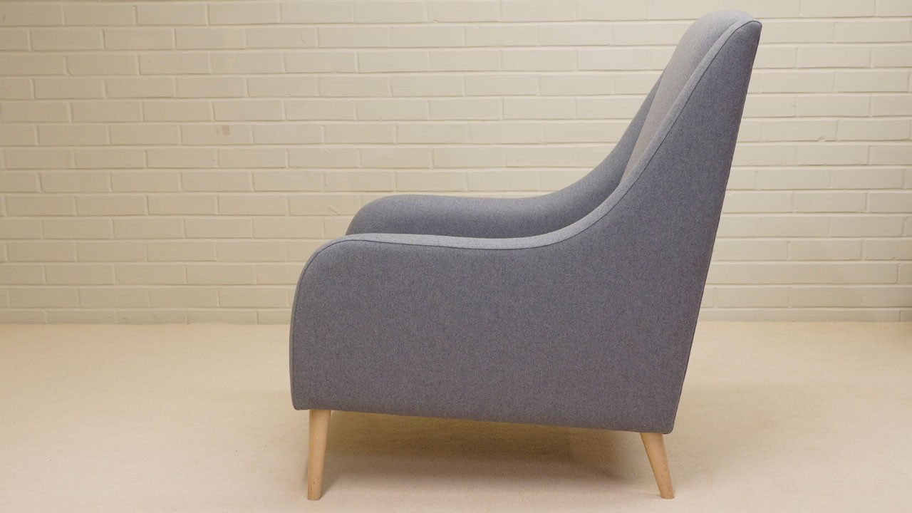 Naomi Chair - Side View