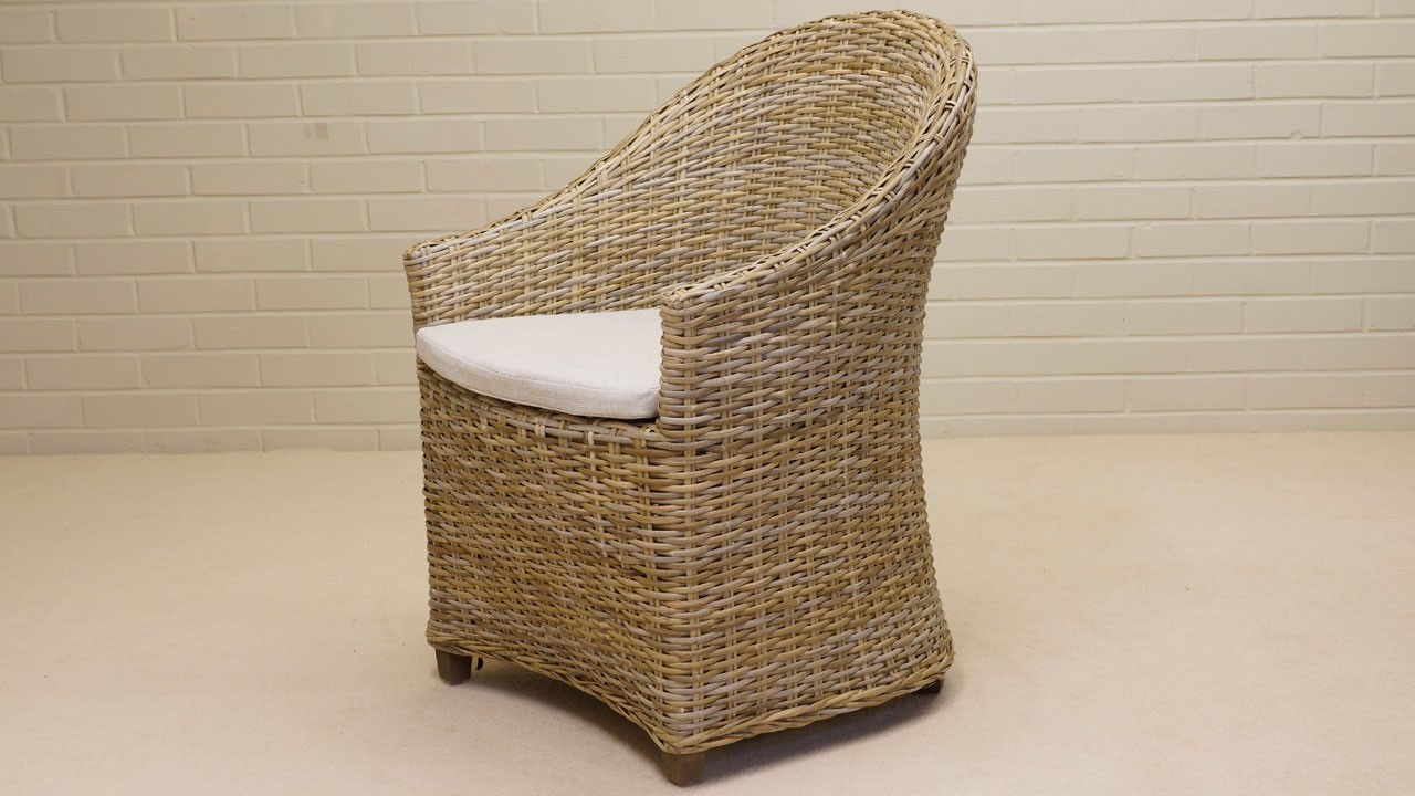 Romain Tub Chair - Angled View