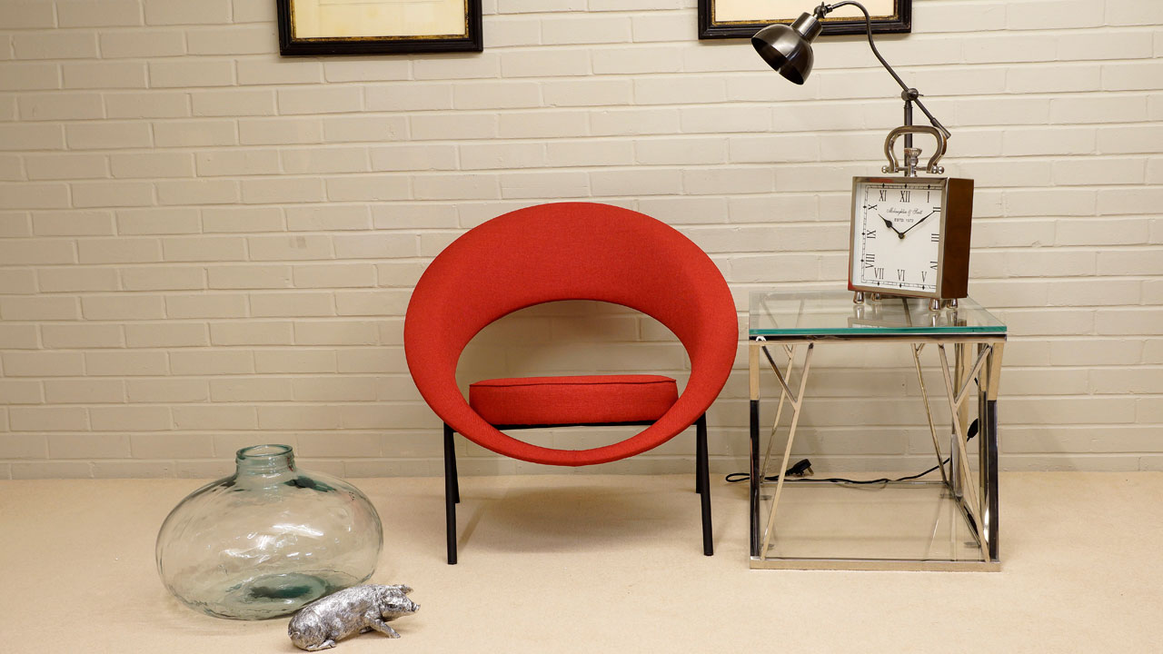 Saturn Modern Chair - Front View