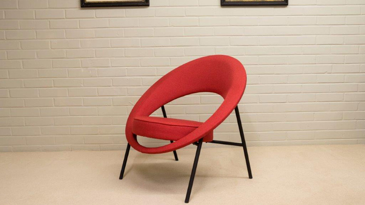 Saturn Modern Chair - Angled View