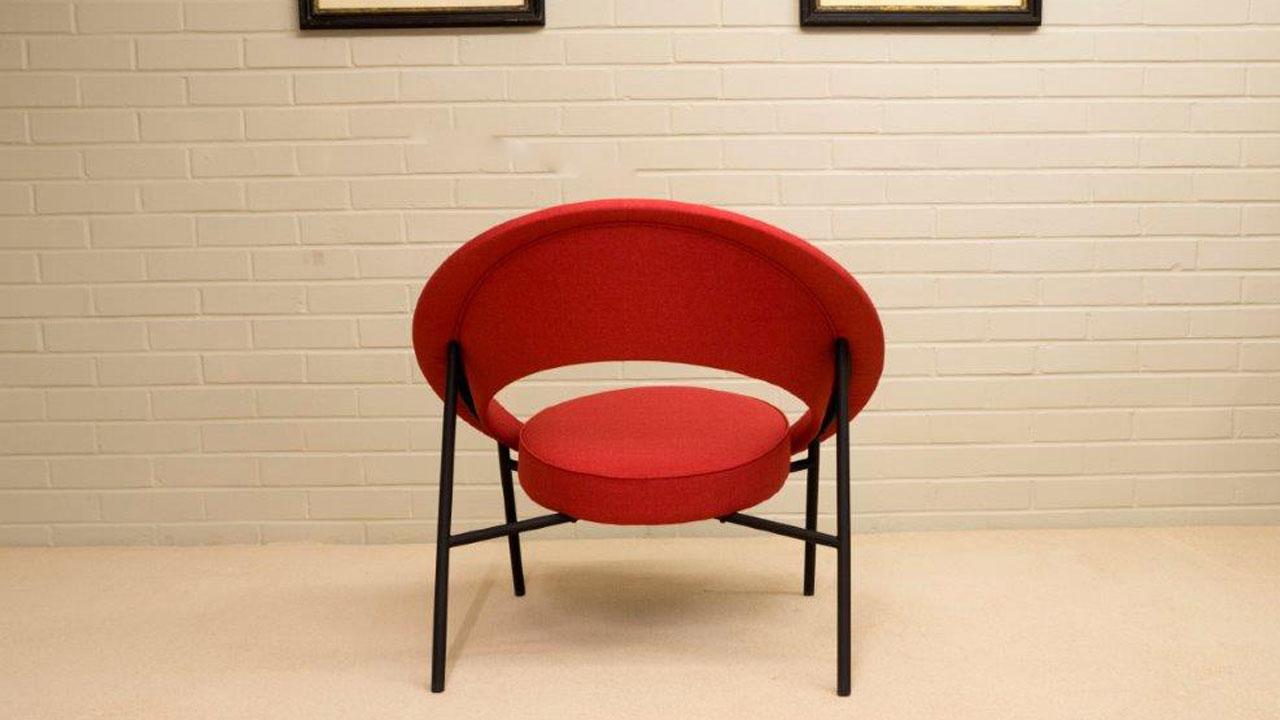 Saturn Modern Chair - Back View