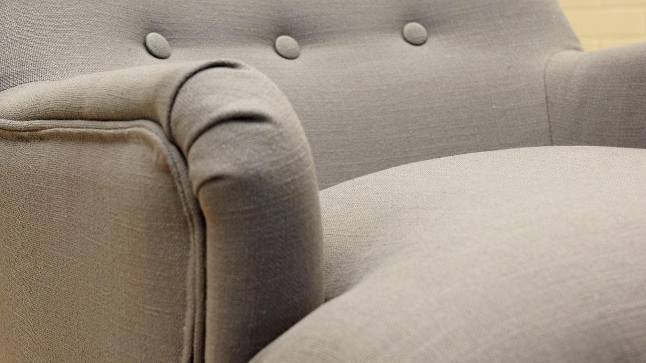 Scandi Style Chair - Detail View