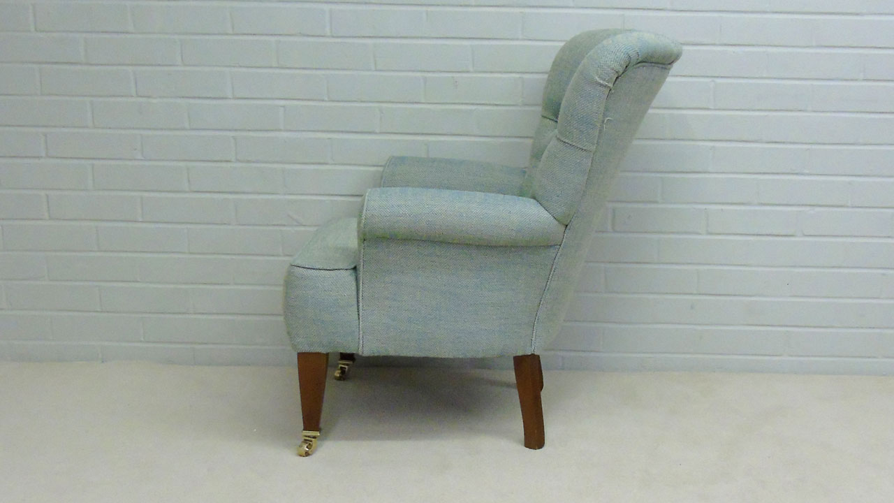 Sophie Button Back Chair - Side View