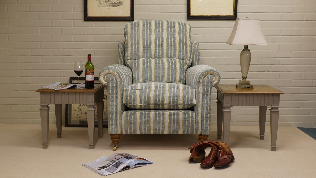 Duresta Southsea Chair - Front View
