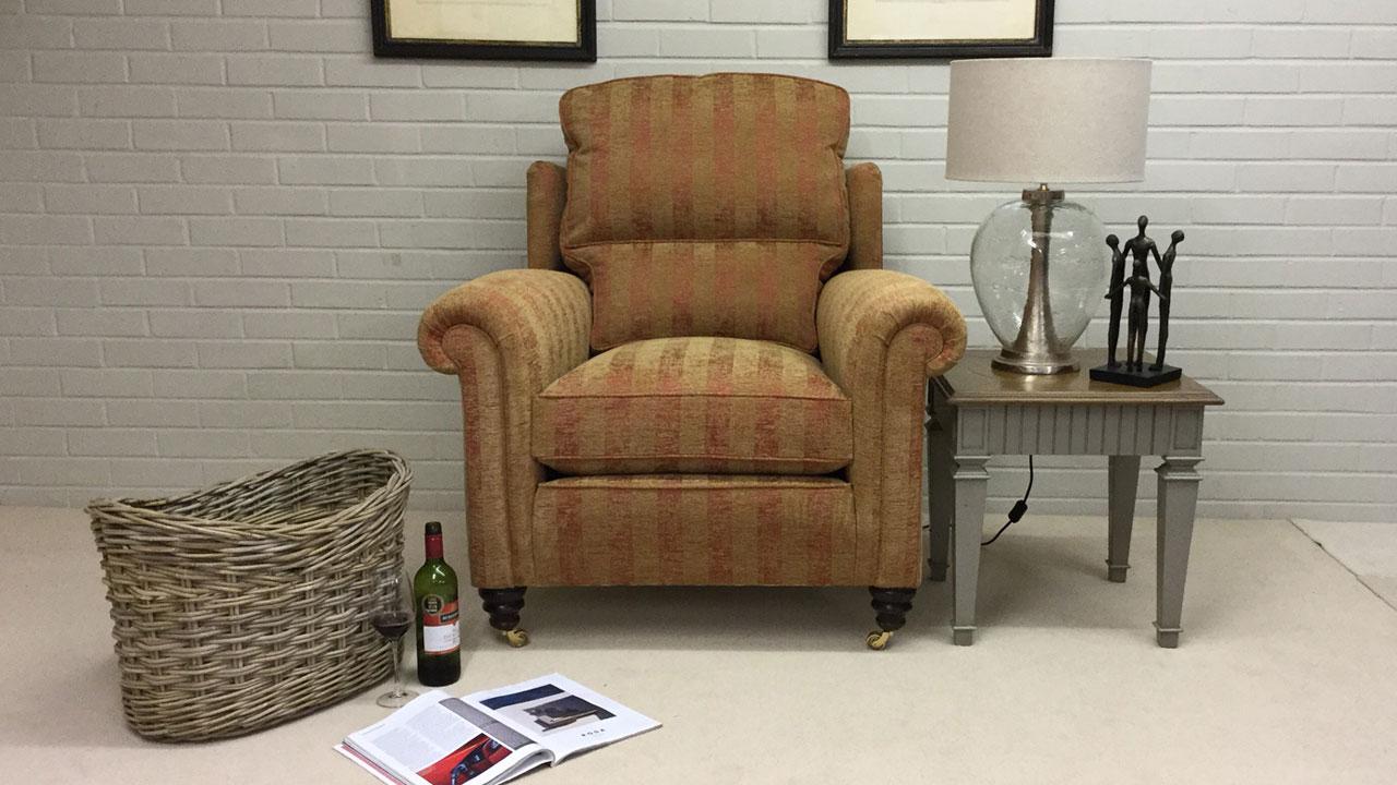 Duresta Southsea Chair - Front View - Alternative
