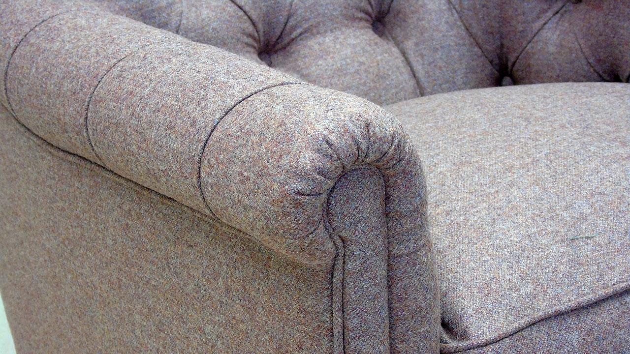 Tillbury Chair - Detail View - Wool