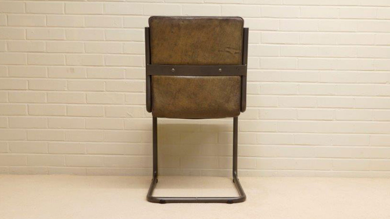 Tim Metal Chair - Back View
