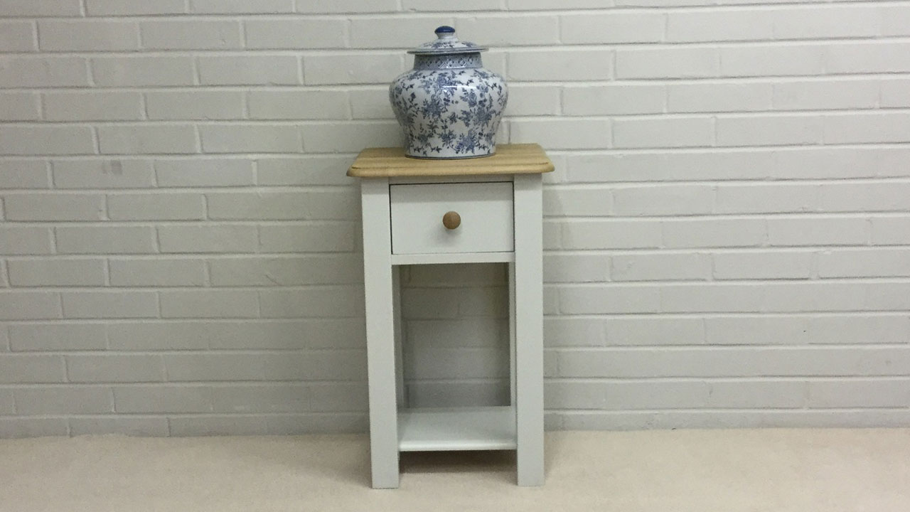 Avebury Bedside Cabinet - Front View