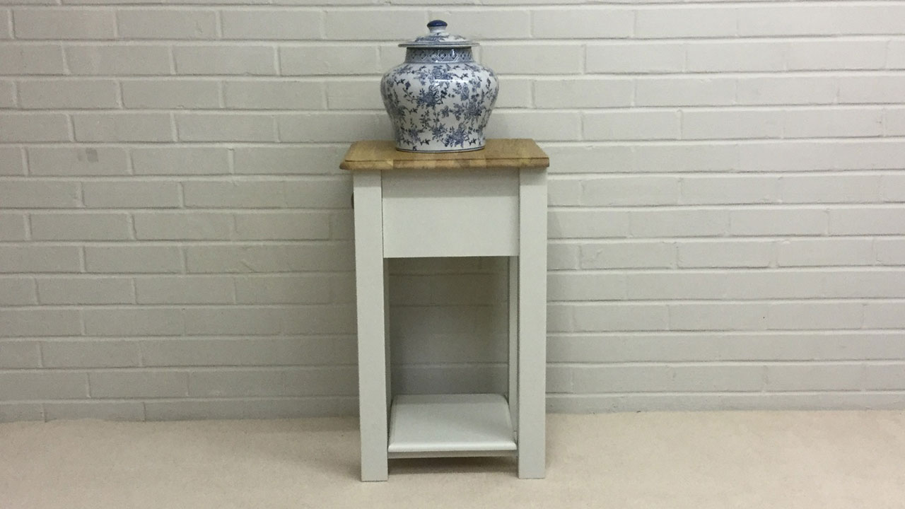 Avebury Bedside Cabinet - Side View