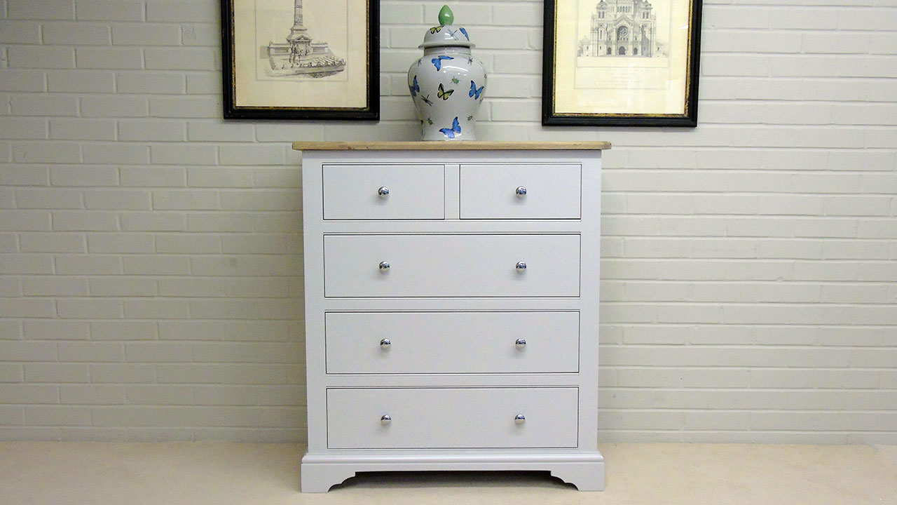 Cavendish Chest of Drawers - Front View