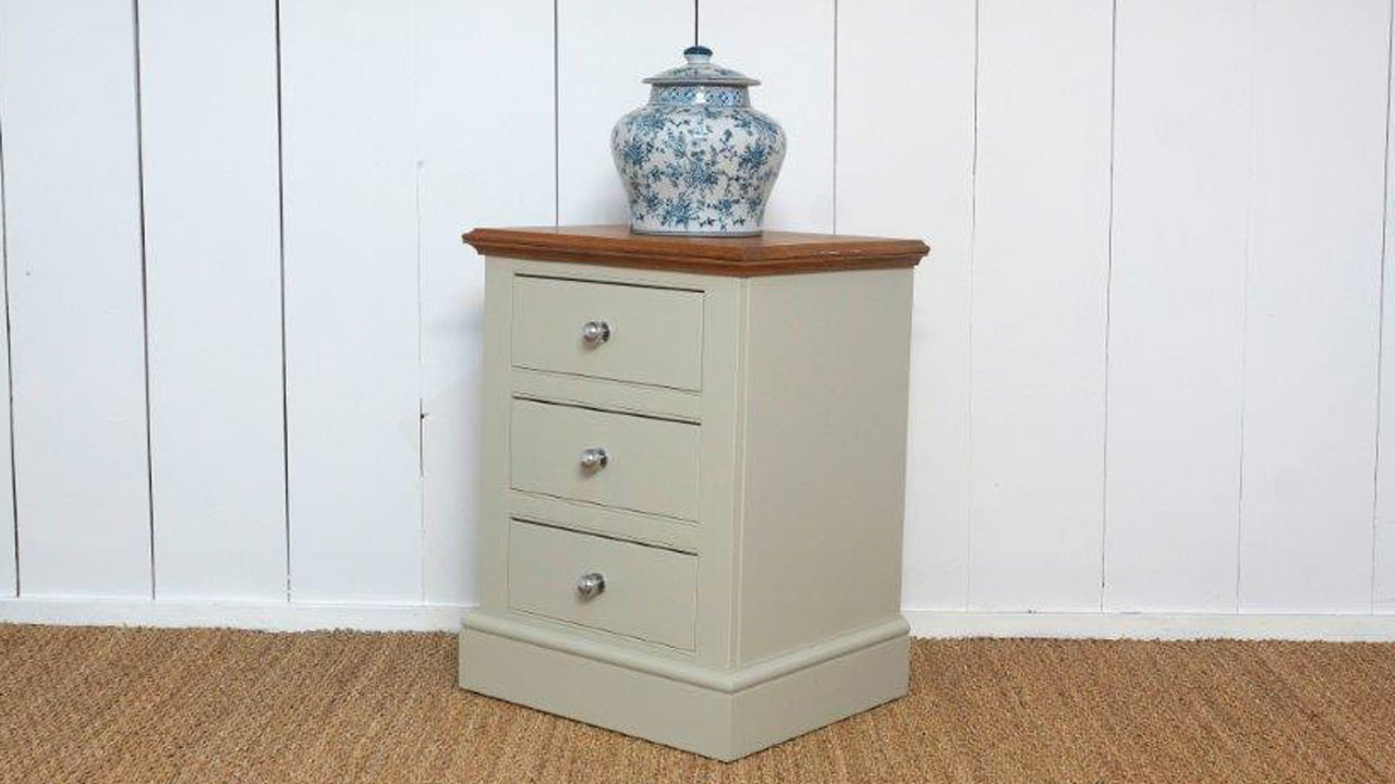 Chatsworth Bedside Drawers - Angled View