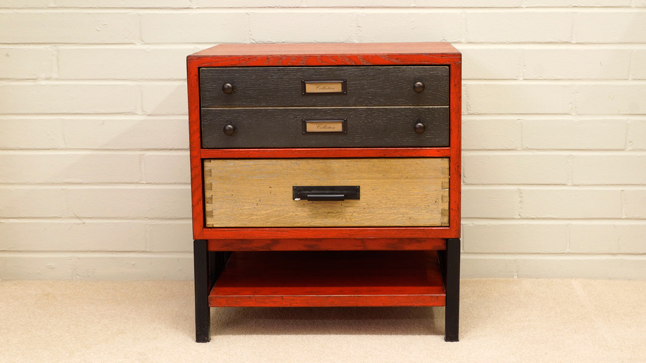 Industrial Filing Chest - Front View
