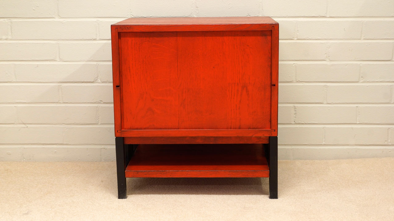 Industrial Filing Chest - Back View