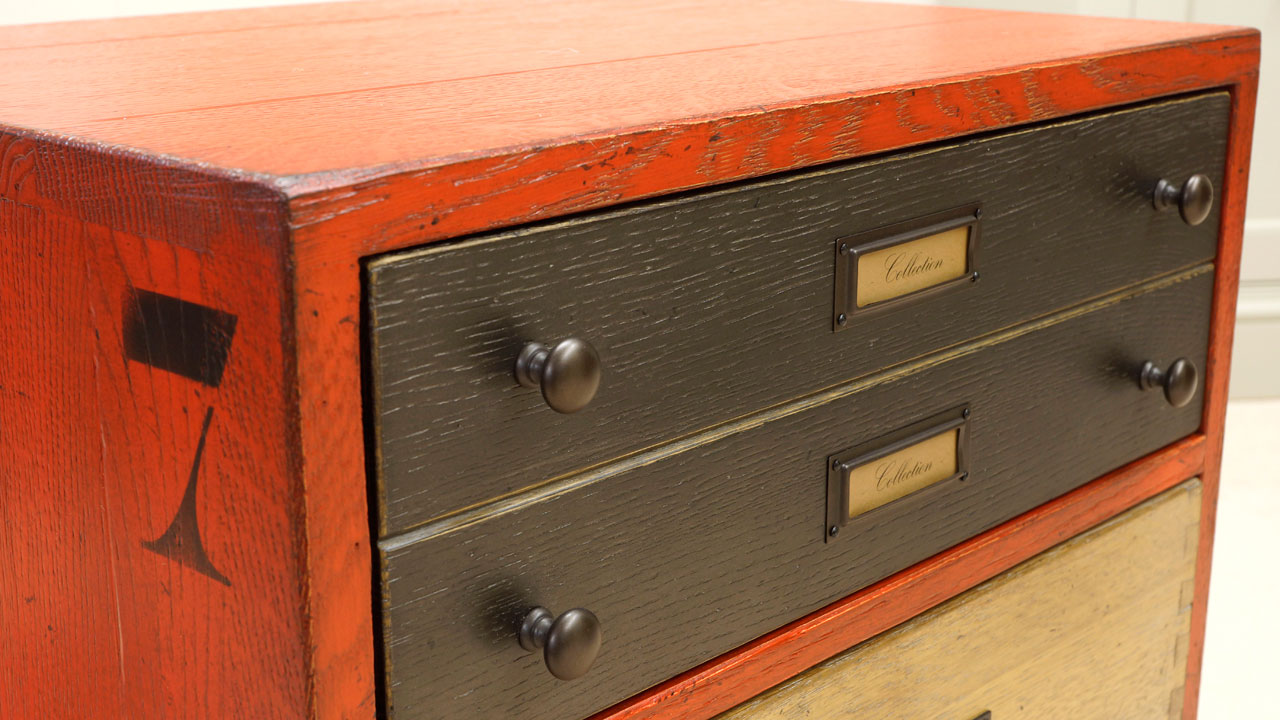 Industrial Filing Chest - Detail View